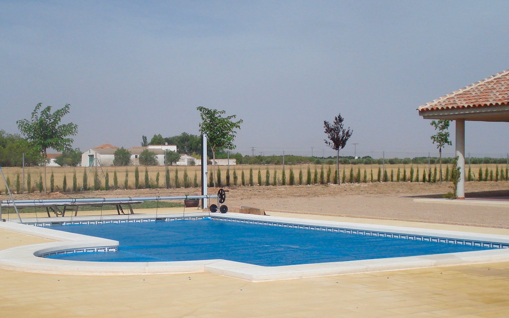 Construcción piscina ecológica CN