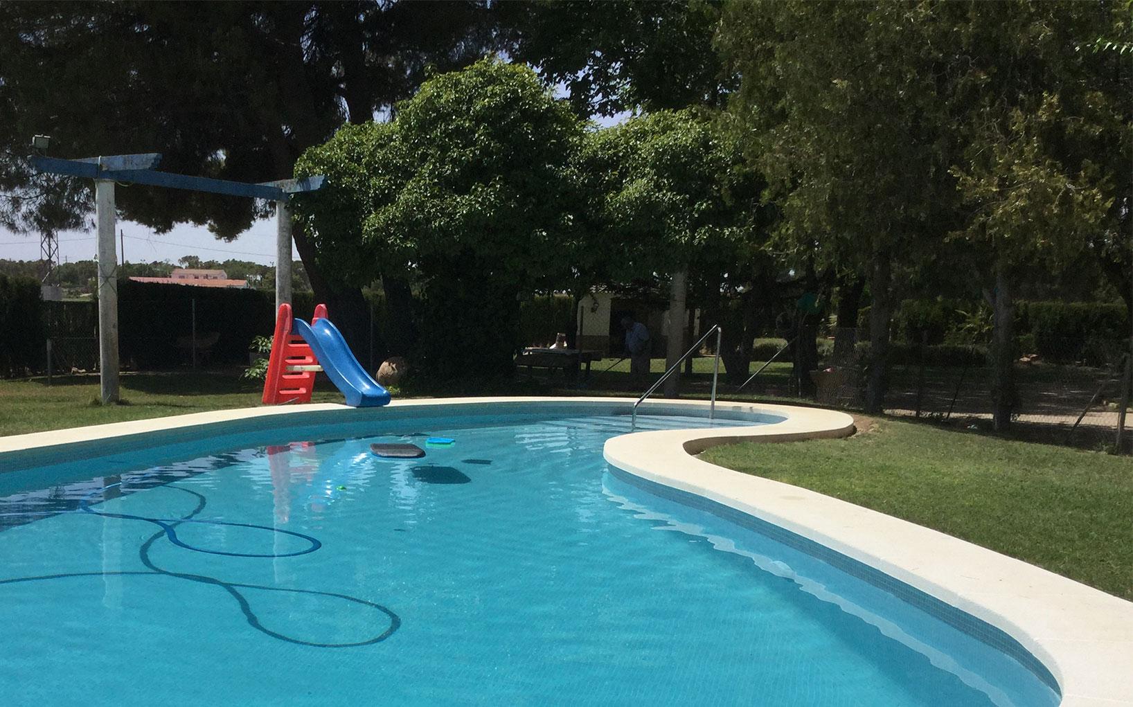 Rehabilitación piscina privada ml